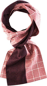 Margo Petitti Men's Parker Scarf: US$190.