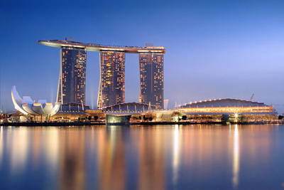 Marina Bay Sands.