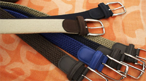E. Marinella men's belts.