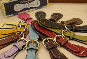 E. Marinella women's belts.