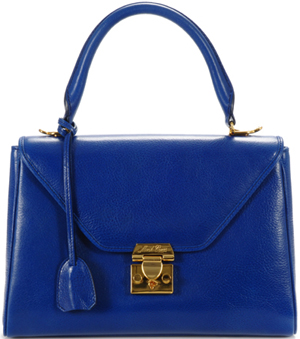 Mark Cross Scottie Small Flap Satchel Handbag: US$1,950.