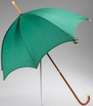 Mark Cross umbrella (ca. 1915).