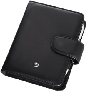 Marlen Organizer in genuine leather with MARLEN pen.