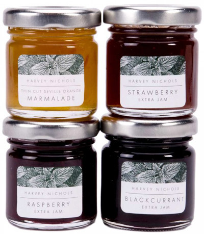 Harvey Nichols mini preserves gift.