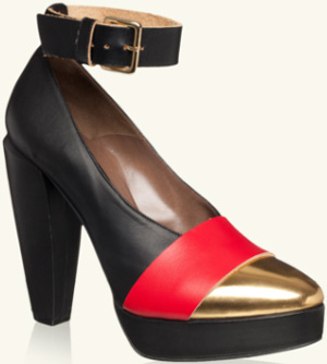 Marni Runway Pump In Calfskin: US$755.