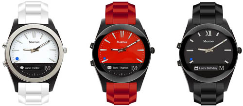 Martian Notifier watches.
