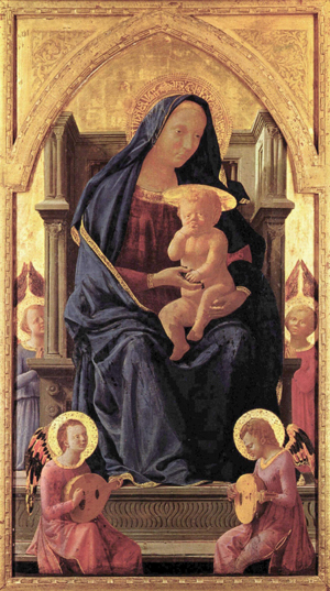 Virgin Mary by Masaccio (1426).