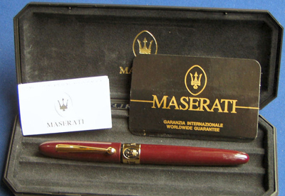 Marlen San Pietro fountain pen.