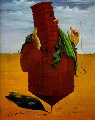 Ubu Imperator (1923) by Max Ernst.
