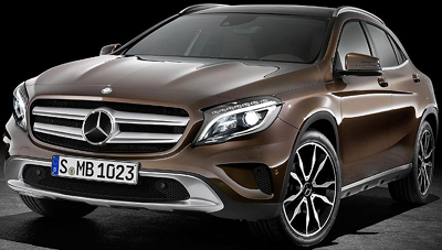 Mercedes-Benz GLA 2014.