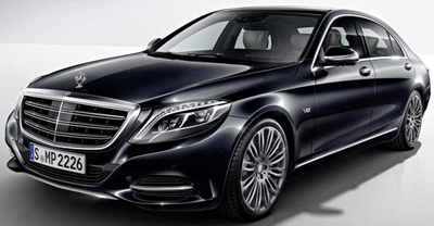 Mercedes-Maybach S600.