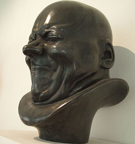'Character head' by Franz Xaver Messerschmidt.
