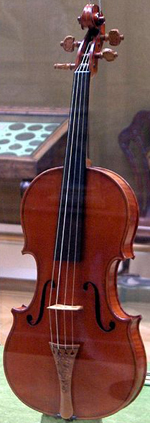 The Messiah Stradivarius violin (1716).