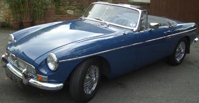MG MGB Roadster (1967).