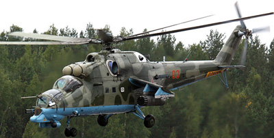 Mi-24PN Helicopter.