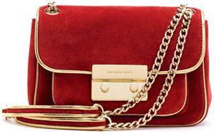 Michael Kors Small Sloan Suede Shoulder Bag: US$248.