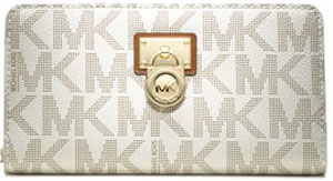 Michael Kors Large Hamilton Logo Continental Women's Wallet: US$148.