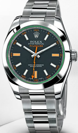 Rolex The Milgauss.