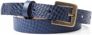 Peter Millar Faux Anaconda Women's Belt: US$53.99.