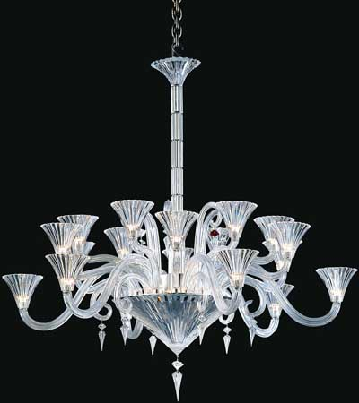 Baccarat Mille Nuits Chandalier 12 Lights.