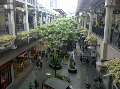 Ala Moana Center.