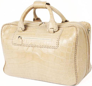 Moncrief Women's Alligator Weekend Bag.