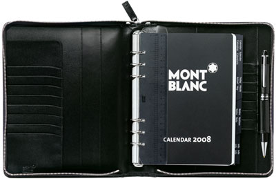 Montblanc Leather Meisterstück Organizer Large with Zip: US$745.
