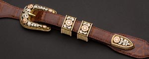 Montecristi Harry Hudson Buckle Set: US$35,000.