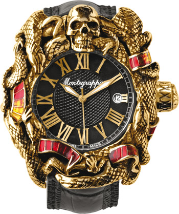 Montegrappa Limited Edition: Chaos solid 18K gold & enamel.