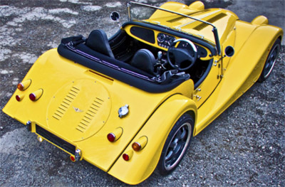 Morgan Plus E - Electric Car.