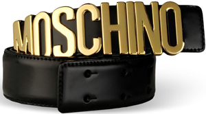 Moschino Men's Belt:  US$325.