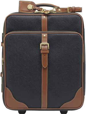 Mulberry Trolley Black Scotchgrain With Cognac Trim: €975.