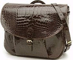 Mulholland Alligator Messenger Bag: US$13,200.
