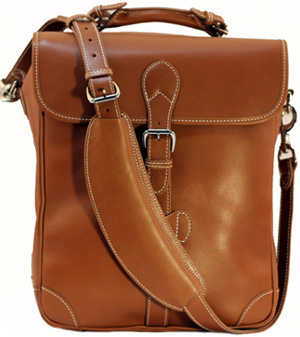 Mulholland All Leather Six Bottle Wine Carrier: US$765.