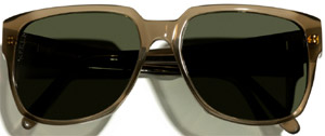 My Sunglasses N.3 with N.P.E.L.P. lenses by Loro Piana.