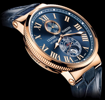 Ulysse-Nardin Marine Collection.