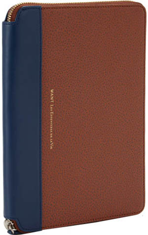WANT Les Essentiels de la Vie Mini Narita iPad Zip Folio case: US$275.