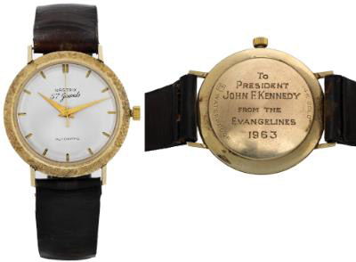 The Kennedy Onassis watch.