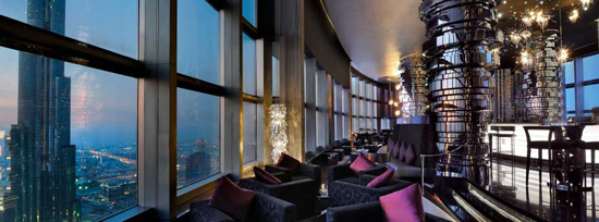 Neos restaurant: located on Level 63 of The Address Downtown Dubai hotel.