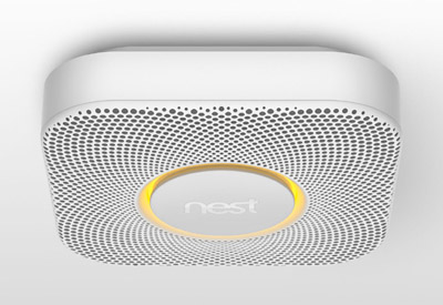 Nest Protect smoke and CO alarm.