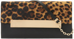 Nine West Leather Clutch Bag: US$149.
