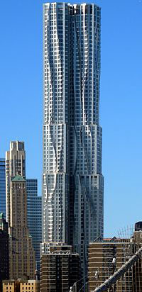 New York by Gehry, 8 Spruce Street, New York City, NY, U.S.A.