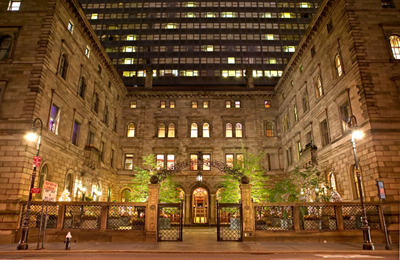 The New York Palace, 455 Madison Ave, New York, NY 10022.