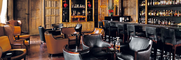 The Oak Bar at Palacio Duhau Park Hyatt hotel.