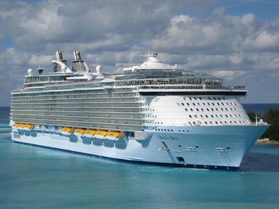 MS Oasis of the Seas - world's largest passenger ship.