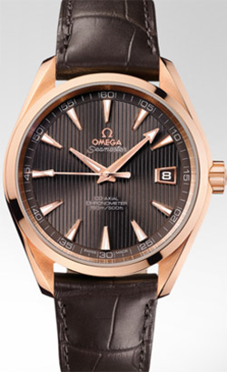 Omega Seamaster Aqua Terra Chronometer.