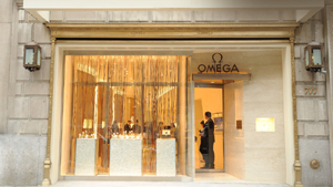 Omega Boutique, 711 Fifth Avenue, New York City, 10022 New York.