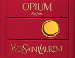 Opium by Yves Saint Laurent.