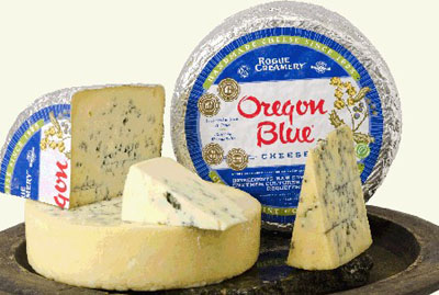 Oregon Blue Vein cheese.