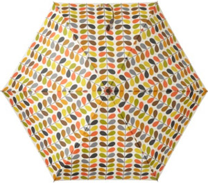 Orla Kiely Multi Stem Microslim Umbrella with Gift Box: US$59.